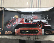 1925 Ahearns Fox Diecast Fire Engine 1:24 Scale