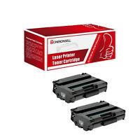 2Pack 408161 Black Compatible Toner Cartridge for Ricoh Aficio SP377 series