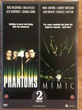PHANTOMS - MIMIC - 2 DVD