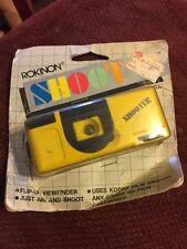 110 Mini Camera Rokinon Shooter Yellow NIP