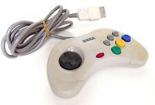 Manette Pad Controller Sega Saturn Officiel White Japan (1)
