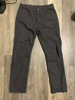The North Face Men's Hiking Pant Size 34 Charcoal Grey