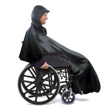 Wheelchair Rain Poncho, Black