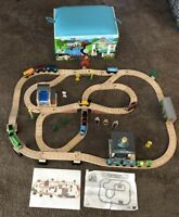Learning Curve Thomas the Train Wooden Railway Deluxe Sodor Aquarium Set!LC99529
