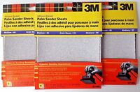 "3M 4-1/2"" x 4-1/2 Palm Sander Sheets 9210NA 3-5 PKS"