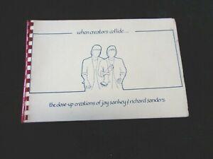 RARE When Creators Collide Sanders/Sankey 1st Edition ca 1987