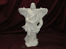 Ceramic Bisque Male Angel with Sword Ready to Paint U Paint