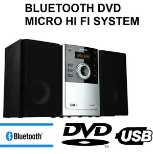 AIWA 50W Hi Fi Stereo System CD Player Bluetooth USB AUX FM Radio Remote NEW