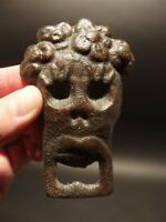 Vintage Antique Style Cast Iron Day of The Dead Sugar Skull Bottle Opener