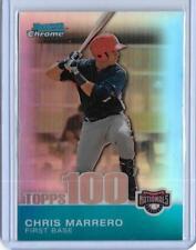 2010 BOWMAN CHROME CHRIS MARRERO REFRACTOR ROOKIE CARD RC TPC73 ~ 499/499 UNIQUE