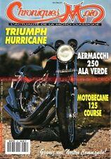 CHRONIQUES MOTO 39 MOTOBECANE 125 LT3 S TRIUMPH X75 Hurricane AERMACCHI 250 NSU