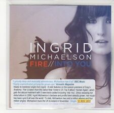 (DL679) Ingrid Michaelson, Fire - 2012 DJ CD