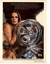 1973 KEYSTONE ROUGE CUSTOM WHEEL  ~   SEXY ORIGINAL PRINT AD