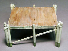 TALL PIER O On30 Model Railroad Structure Unpainted One Piece Cast Resin FR195
