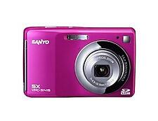 Sanyo S1415 14.0 MP Digital Camera - Pink