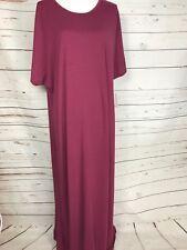 LuLaRoe QUICK SHIP NWT Maria Dress 👗 3XL Heathered Pink