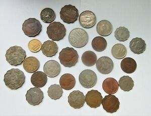 lot of vintage middle eastern coins. ALL AS FOUND