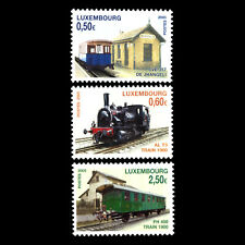 Luxembourg 2005 - Railways of Yesteryear Trains - Sc 1164/66 MNH