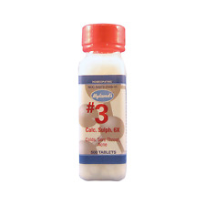 NEW! Hyland's #3 Calcarea Sulphurica 6X of Schuessler's Salts,500 tab Calc Sulph