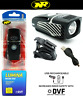 Niterider Lumina Micro 650 Lumens CREE LED Bike Head Light USB Bright Safety DVF