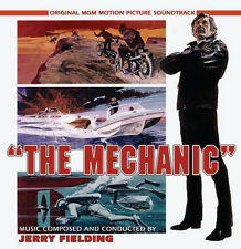 THE MECHANIC - EXPANDED SCORE - LIMITED 1200 - OOP - JERRY FIELDING