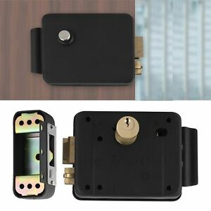 Electronic Lock Electric Gate Door Lock Security Gate Access Control System