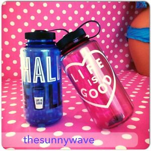 LIFE IS GOOD water sport fitness plastic BPA free bottle mug tumbler flask 32oz