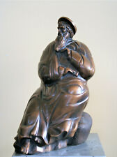 The Moses Bronze Sculpture, Author's Sculpture Worldwide Delivery Handmade