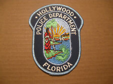HOLLYWOOD FLORIDA POLICE PATCH
