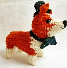 Amigurumi Pembroke Welsh Corgi Breed Puppy Dog Crochet Handmade Figurines Bren