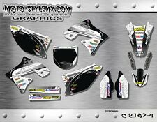 Kawasaki KX 250f 2009 up to 2012 graphics decals kit Moto StyleMX