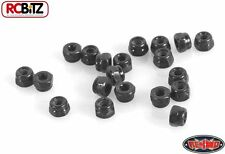 Nylock Nuts M2 BLACK rc RC4WD Z-S0906 Boss arches SMALL Hardware Nut