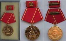 DDR Medaille Kampfgruppen Arbeiterklasse Gold 25 Jahre