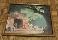 """Paul Detlefsen Framed Print """"The Blacksmith"""" 12"""" X 15"""""""