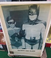 BATMAN  POSTER NEW MID LATE 70S RARE VINTAGE COLLECTIBLE OOP ORIGINAL NOT A REPO