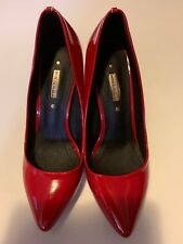 RED HIGH HEELS Y.X. FENG  SIZE 36