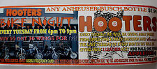 Hooters SeXy Girls Bike Night Harley Davidson Appleton Buell Promo Poster
