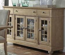 Liberty Cottage Harbor Buffet Sideboard Console Sand Beige Credenza Dining Room