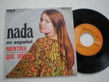 """NADA"""". Bugia IN SPAGNOLO 45 1969 IN SPANISH"""