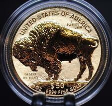2013-W AMERICAN GOLD BUFFALO REVERSE PROOF COIN (1 oz .9999 PURE) $50