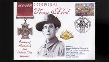 Australian Anzac Victoria Cross 100th Anniv Cov, Corp Thomas Axford