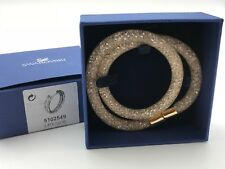 Swarovski Stardust Armband Gold s 38 Cm
