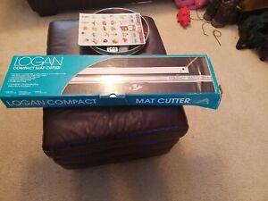Logan Model 301 Compact Mat Cutter