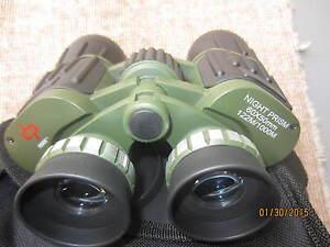 Day/Night prism  60x50 Military style  Binoculars Camo/Black