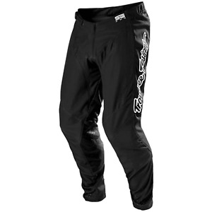 Troy Lee Designs SE PRO Pants Tld Mx Motocross Dirt Bike Enduro Gear SOLO BLACK