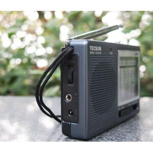 UK STOCK - TECSUN R-9012 AM/FM/SW/MW 12 Bands Shortwave Radio Receiver Shortwave