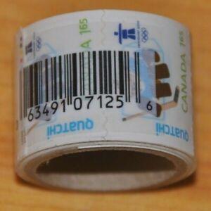Weeda Canada 2310i Unopened coil roll, $1.65 Quatchi Olympics issue CV $194.80