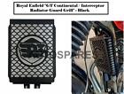 "Royal Enfield ""GT Continental / Interceptor Radiator Guard Grill"" - Black"
