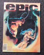 1982 EPIC Illustrated - Marvel Magazine v.1 #10 VF- Charles Vess