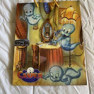 "Casper the friendly Ghost 90s 1990s Halloween Gift present Bag 13x10"""
